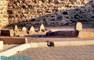 قبرستان بقیع در مدینه - سلام بر چهار امام معصوم (ع)