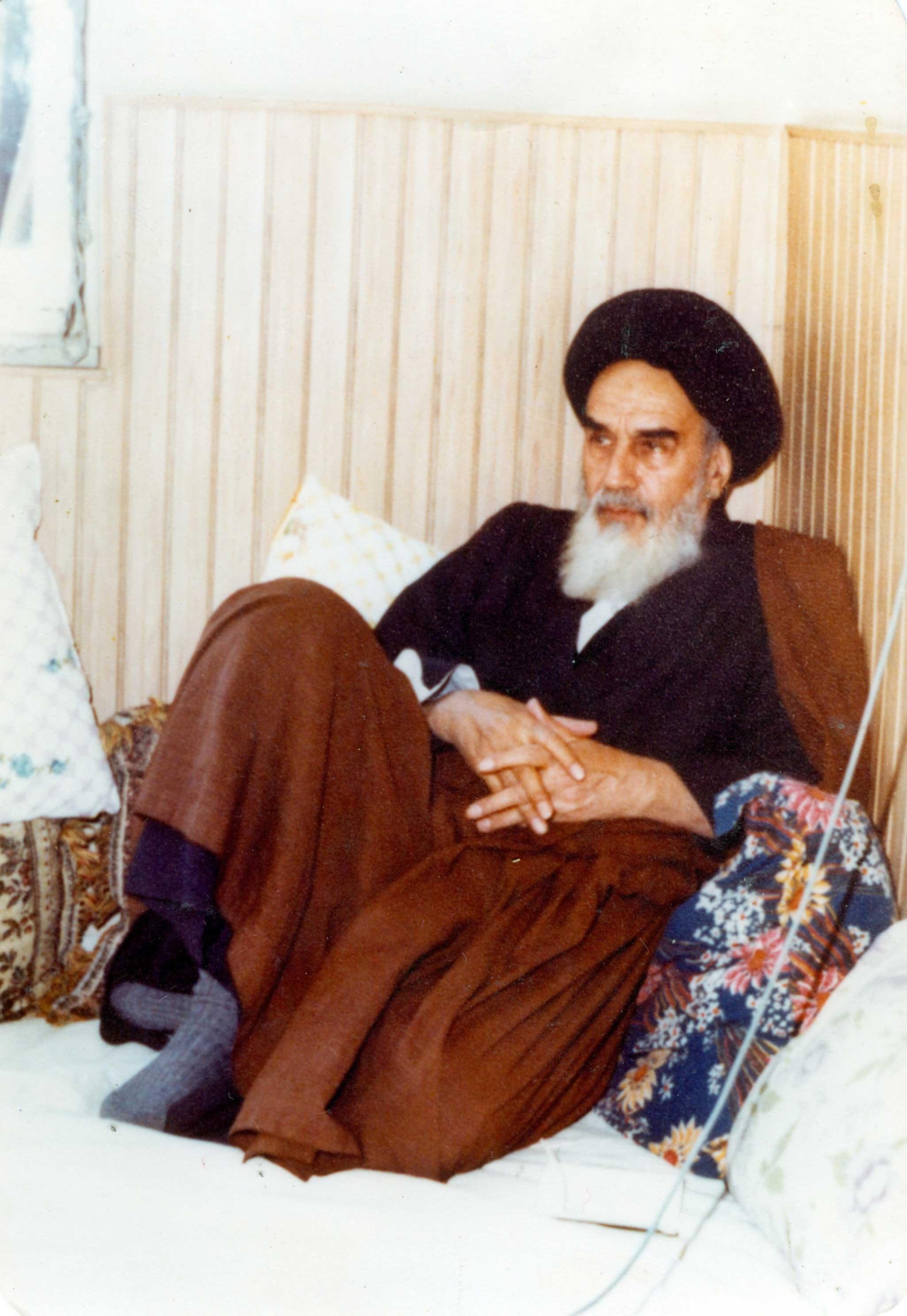 تصویر زیبایی از امام خمینی (ره) - رهبر کبیر انقلاب اسلامی